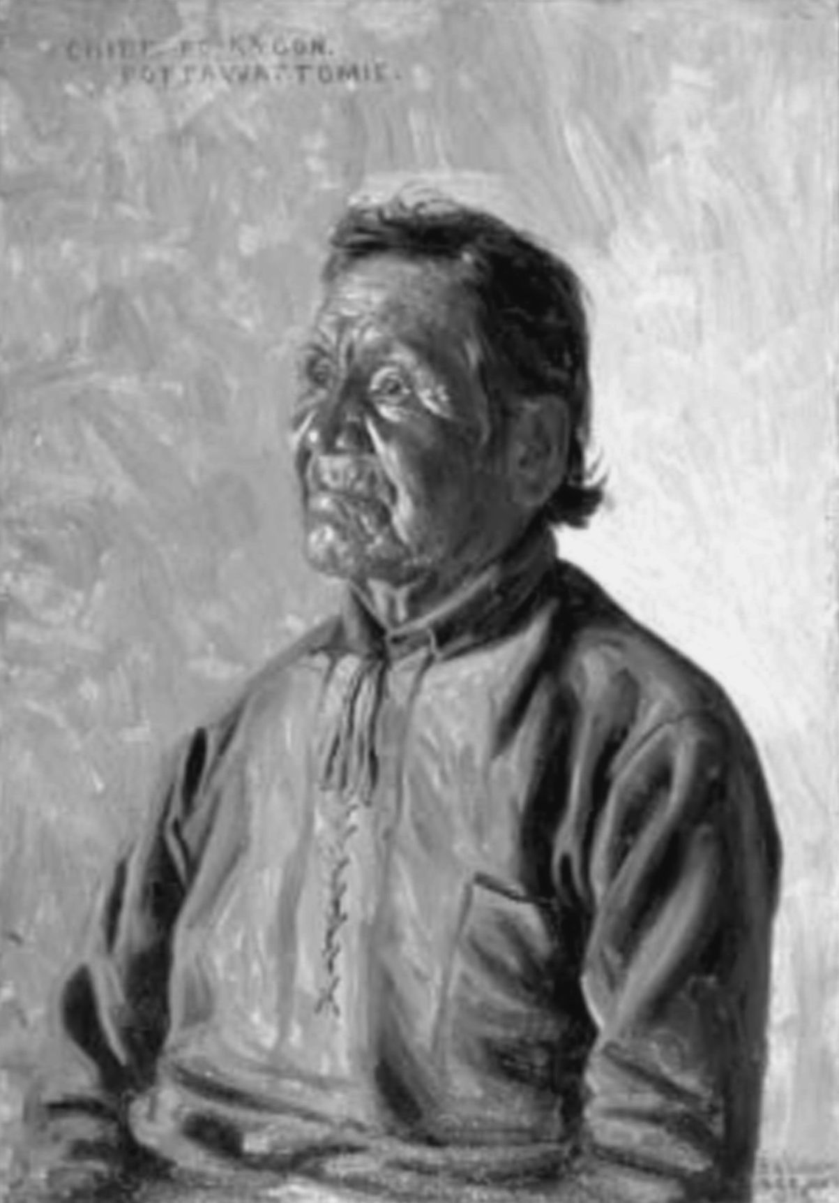 Portrait of Simon Pokagon from nwitimes.com