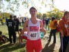 T.F. South cross country runner Dylan Angell