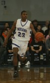 Lake Central's Glenn Robinson III brings the ball up
