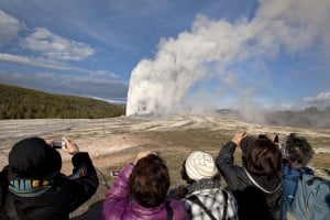 Yellowstone focuses on Old Faithful geology