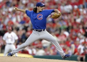 Samardzija pitches Cubs past Cardinals