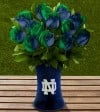 FTD College Rose Collection Notre Dame Arrangement
