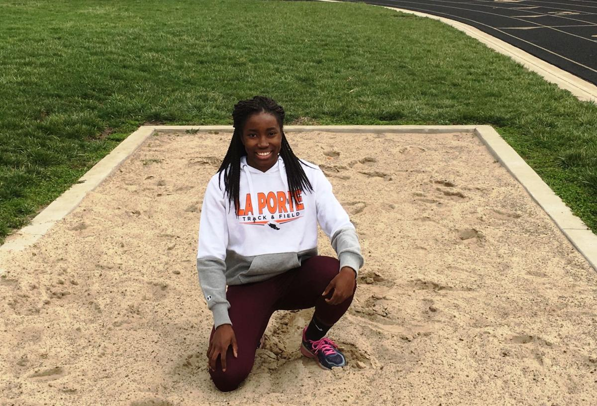 Flowers blossoming for laporte girls track track field for Laporte schools employment