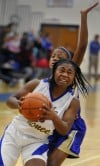 Crete-Monee's Alexia DeBose, Bloom's Danielle King