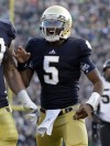 Little things adding up for Notre Dame's Golson