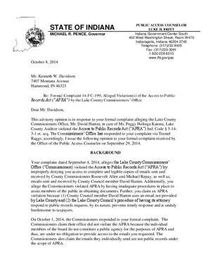 Public business sent via private email subject to disclosure law