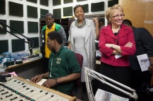 Lt. governor visits Gary Area Career Center