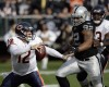 Hanie throws 3 INTs, Bears lose 25-20 to Raiders
