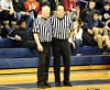 Mark Wise, Steve Kvachkoff officiate their last game together after