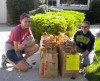 Young volunteers help with Kiwanis Food Drive