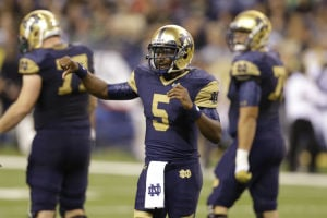 Notre Dame faces Syracuse with maturing Golson