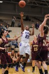Merrillville junior guard A.J. Downs