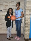 Athletes inspire sixth graders