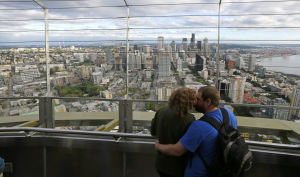 High-tech fun rivals view at Seattle Space Needle