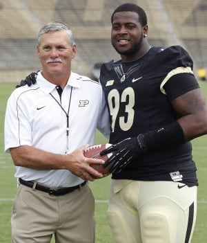 AL HAMNIK: Purdue's Kawann Short learns D-I football a cold business