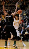 Valparaiso's Bobby Capobianco looks for the outlet pass during Saturday night's semifinals of the Horizon League Tournament.