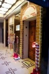 Exterior of Gingerbread Express Elevator at Trump International Hotel Chicago