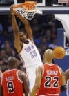 Durant's 30 help Thunder put Bulls away