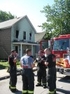 Woman rescued from burning Hammond home