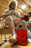 A close shave for a good cause