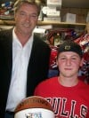 Toni Kukoc and fan