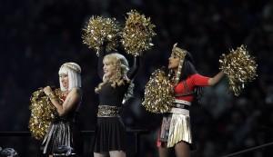 M.I.A.'s finger, foulmouth mar Madonna's halftime