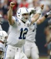 Andrew Luck, Colts quarterback
