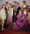 Cast of CBS TV Series &quot;Lost in Space&quot;