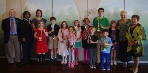 Lake County Public Library presents Read-a-Thon awards