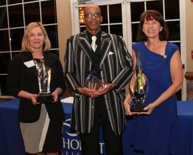 Methodist honors trio at Service Award Banquet