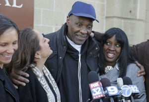 Prosecutors won't retry Illinois man in '82 rape