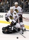 Blackhawks crash LA Kings' party with rout 