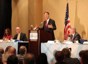 Bayh seeks end to partisan divisiveness for America's sake