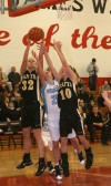 Hanover Central vs Kouts PCC girls basketball