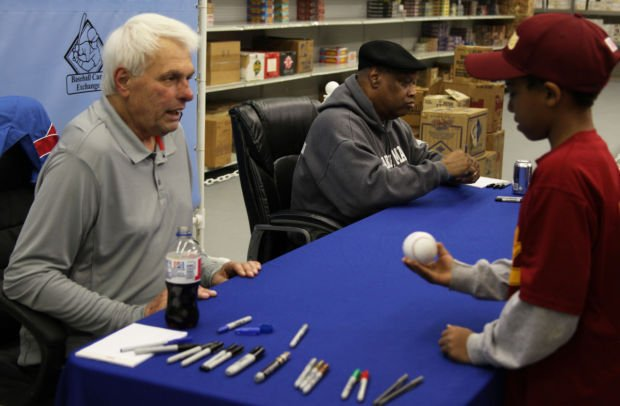 baseball card store helps feed needy with autograph