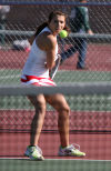 Mandy Haupt, Portage tennis