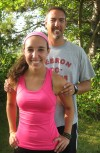 Running has brought Hebron's Emily and Mike DeFries closer as daughter and father