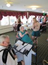 Polka party makes woman's wish come true
