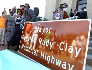 Part of U.S. 20 renamed for Rudy Clay