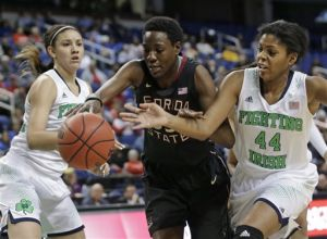 COLLEGE BASKETBALL ROUNDUP: No. 2 Irish women rout FSU in ACCs