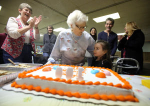Nearing 100, Lansing woman celebrates early