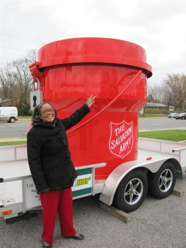 Collections support Salvation Army, Operation Bookworm