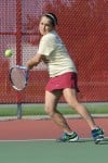 Chesterton No. 1 singles player Bobbi Modesto