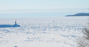 Lake Michigan ice cover breaks 37-year-old record