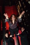 Times Columnist Eloise Valadez as a Wine Aerialist at Texas de Brazil Steakhouse in 2009