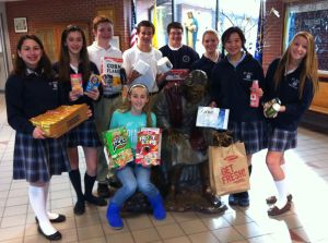 School hopes to collect 10,000 items for food pantries