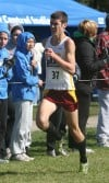 Rusboldt has progressed from no-name to Chesterton's top runner