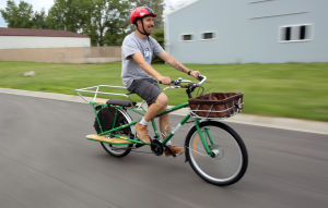 Yuba cargo bikes have cruised into Buck's Bicycle