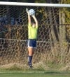Andrean's Kira Grunstein in the Lake Central soccer sectional