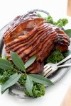 Food Deadline Glazed Ham
